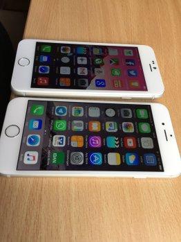Je steiler der Blickwinkel desto mehr sticht die Qualität des iPhone-Displays heraus.