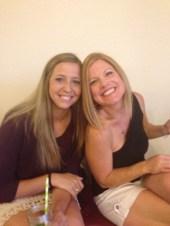 Friends Kaitlen and Sue