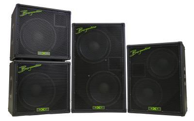 Bergantino XNT Series Bass Cabinets