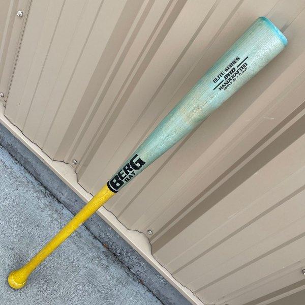 33″ – Maple – B110 – Teal / Yellow / Carbon Fiber Trim