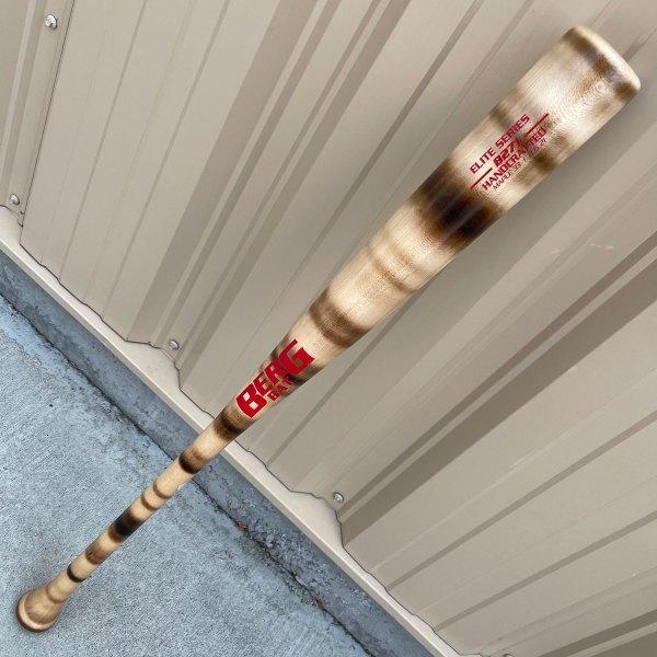 33″ – Maple – B271 – Stripe Flame / Red trim