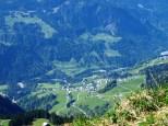 Blick ins Große Walsertal