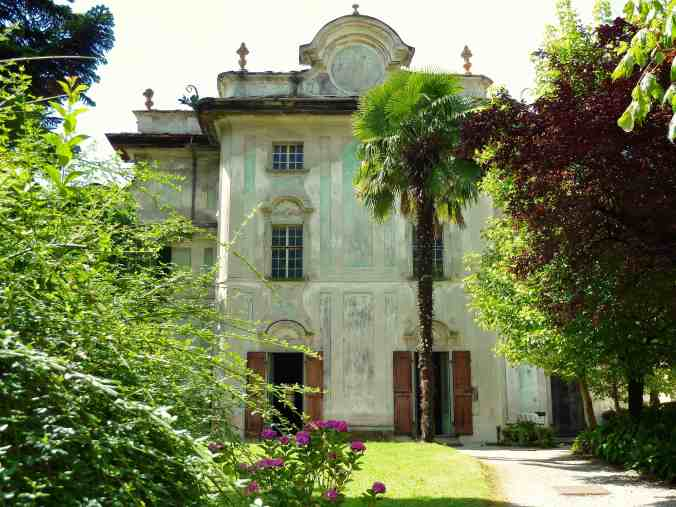Charme des Verfalls: der Palazzo Salis in Chiavenna, heute ein B&B