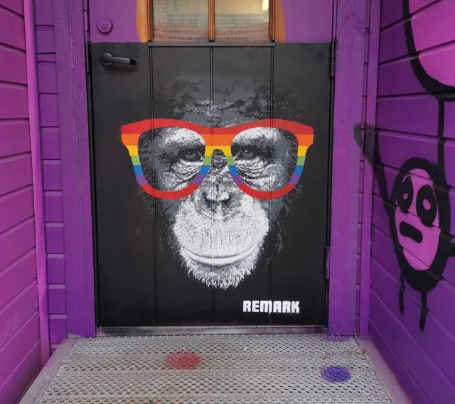 Homophobia the wall