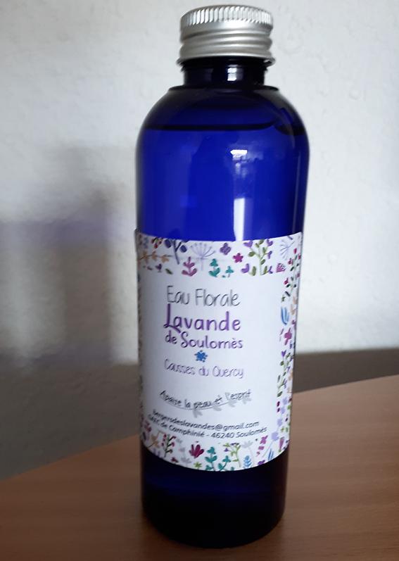 eau florale lavande Quercy