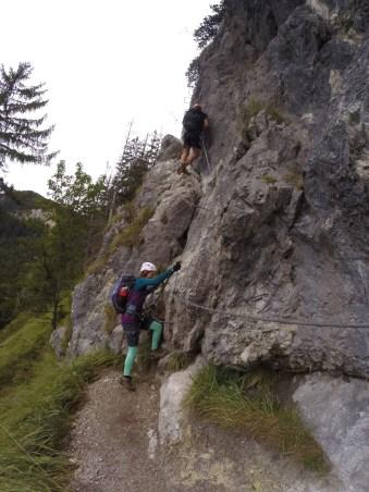 Grünstein-Klettersteig
