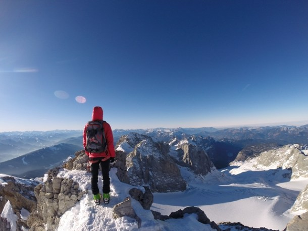 Blick zum Tennengebirge