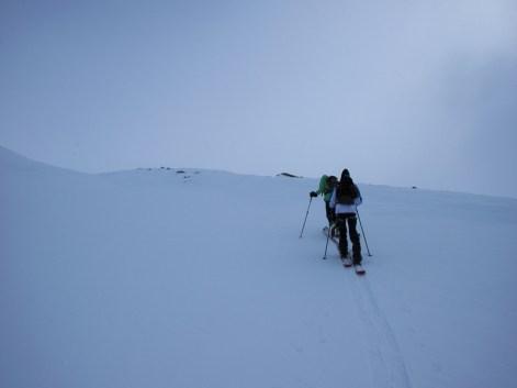 Vom Defreggerhaus zum Gletscherrand.