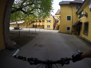 Innenhof vom Gut Meierhof.