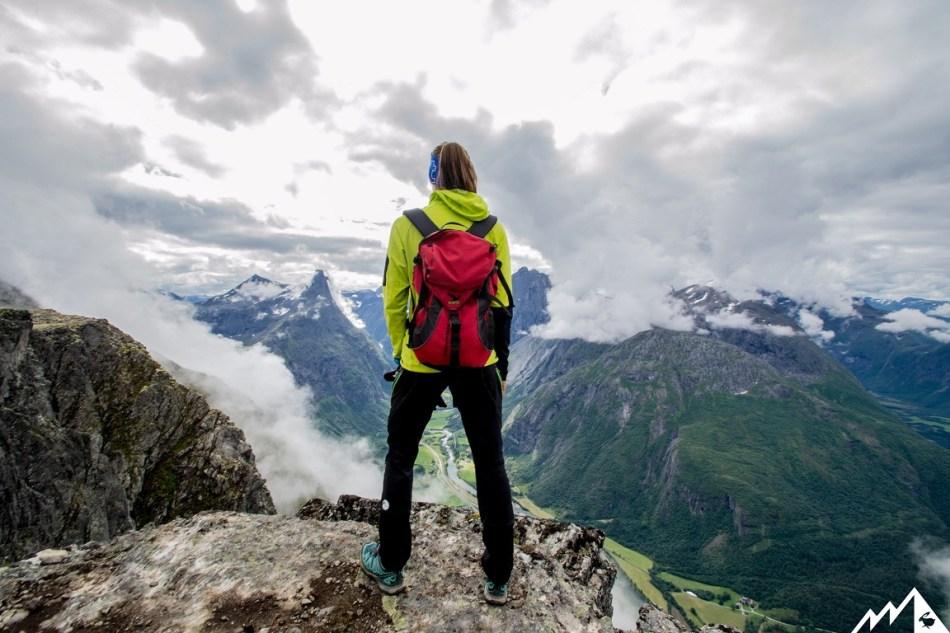 Romsdalseggen Wanderung Norwegen