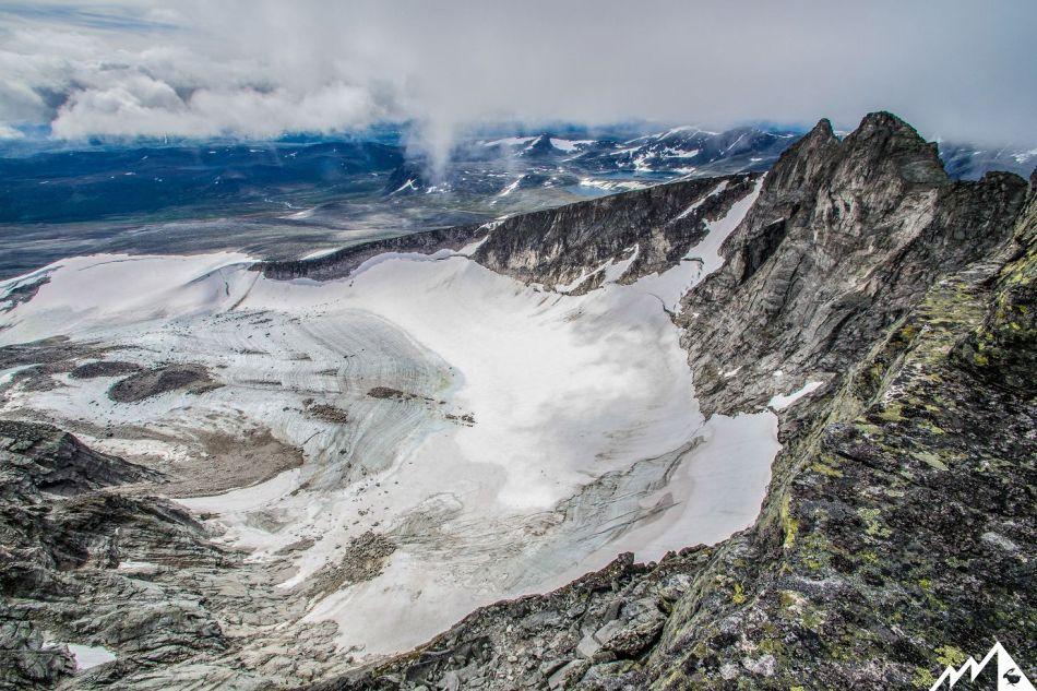 Gipfelgrat der Snøhetta.