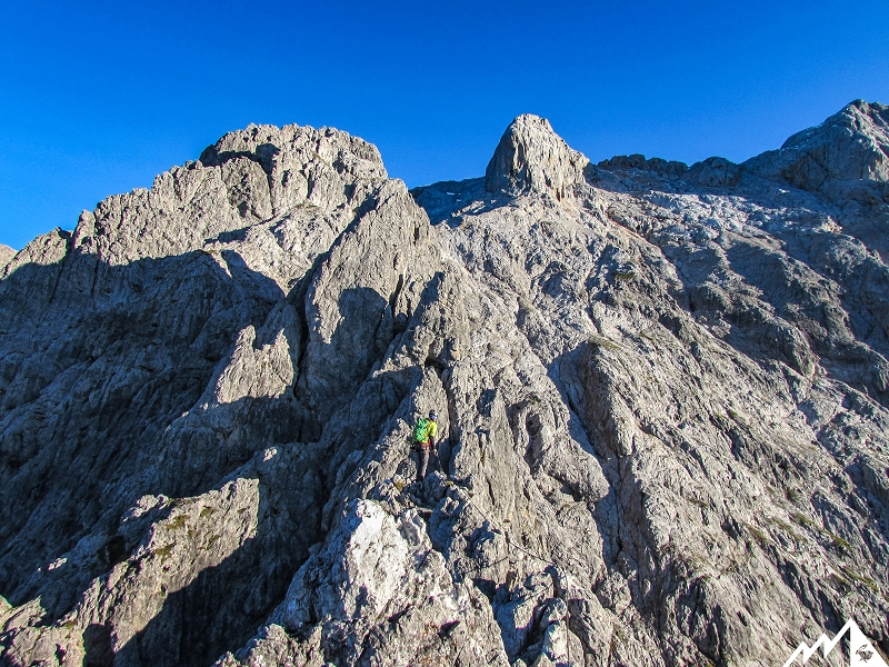 Klettersteig Hochkönig : Hochkönig m über den u ekönigsjodler klettersteigu c alpenverein