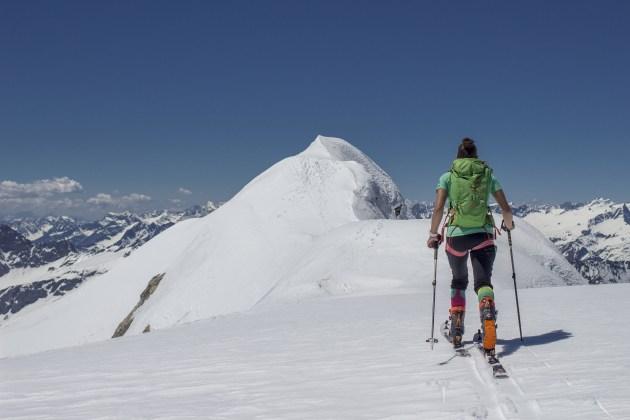 Gipfelgrat der Hohen Riffel.