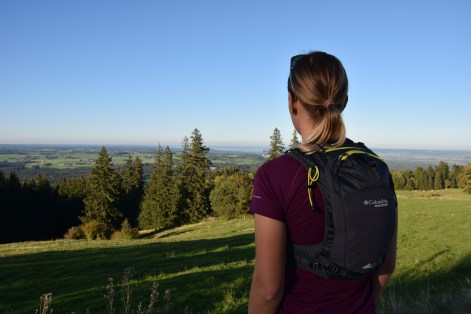 Blick auf der Starnberger See und Ammersee
