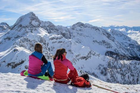 Liebeseck Skitour