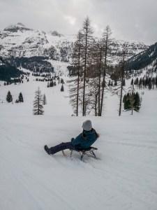 Rodeln-Obertauern