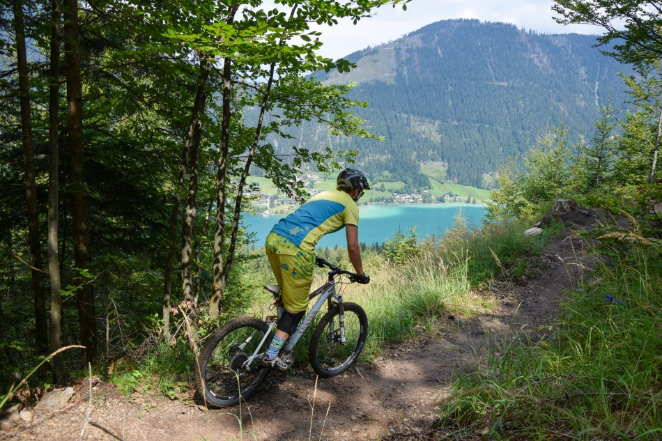 Mountainbike Weissensee