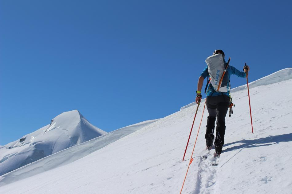 Britannia Hütte Skitouren Alphubel Saas-Fee