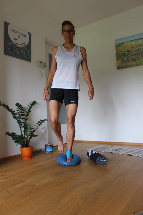 Sprunggelenk Stabilität Übungen