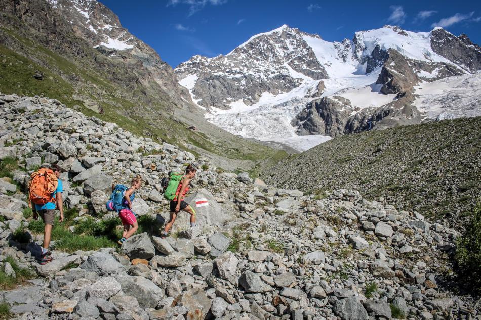 Biancograt Piz Bernina