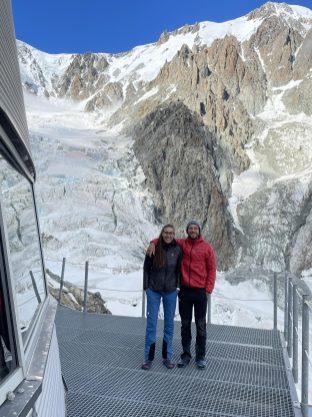 Terrasse auf 3.000 m.