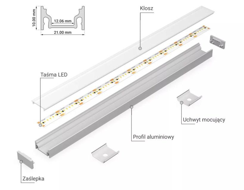 Profil aluminiowy PRO-5