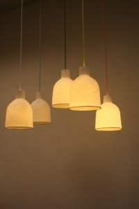 Pendant Lamp Bone China  bergontwerp