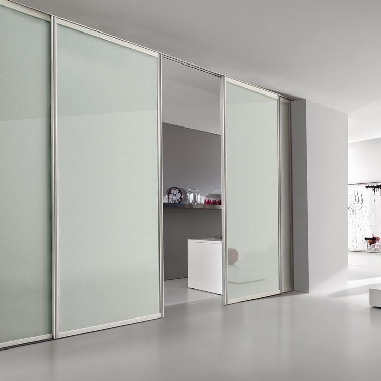 Bertolotto Bikoncept porte in vetro e alluminio  Bergo Porte