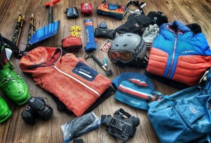 Ausrüstung für Tages-Skitouren