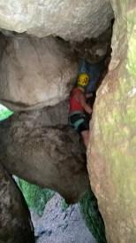 Der Höhlendurchschlupf