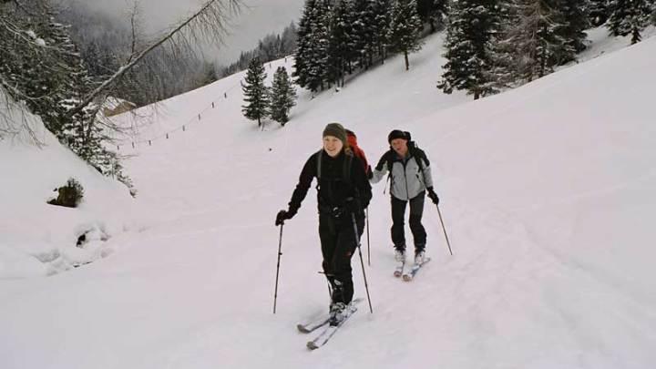 Skitour Maurerberg/Lüsen 2340m