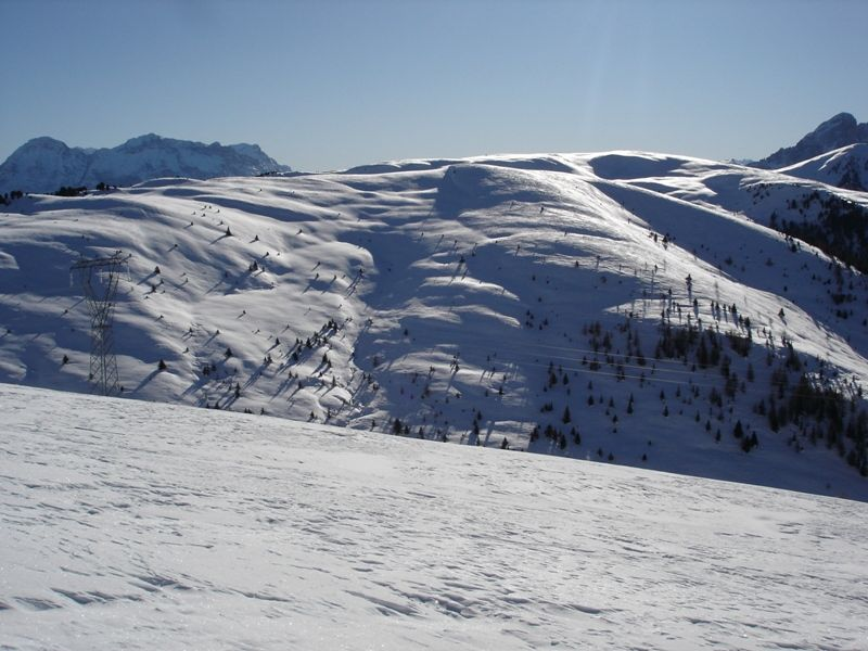Glittner Joch (2189 m) in Lüsen