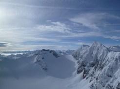 Richtung Agglsspitze und Feuersteine