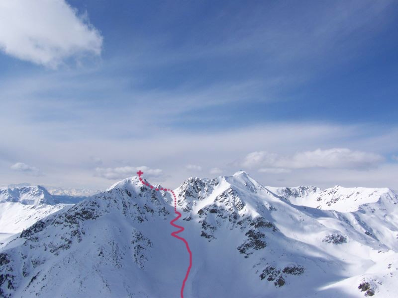 Lorenzispitze (2483m), Ritzlar (2528m)