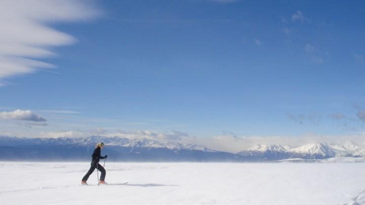 Eröffnung der Skitourensaison am Rittner Horn (2260m)