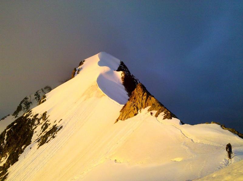 Piz Bernina (4049m) Biancograt