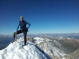 Tom am Gipfel