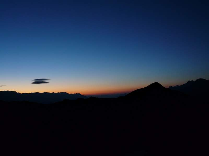 Sonnenaufgang Chavalatsch (2764m)
