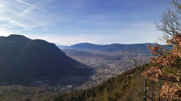 Trailrunning Bozen – Oberbozen 2er Steig