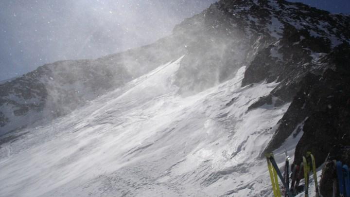 Saldurspitze (3433 m) u. Lagaunspitze (3439 m)