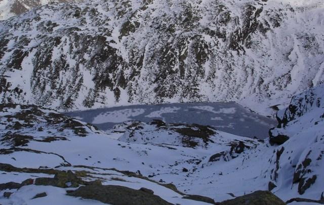 Botzer (3251 m) auf flosses Spuren