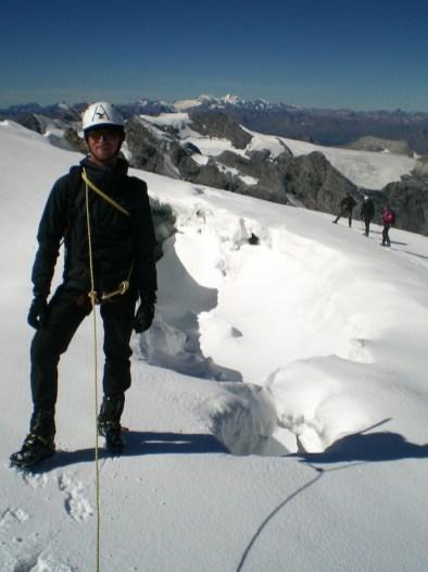 Abstieg zum Pleisshorngrat