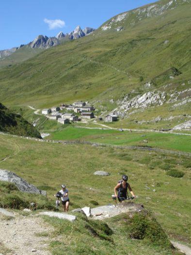 Blick Richtung Jagdhaus