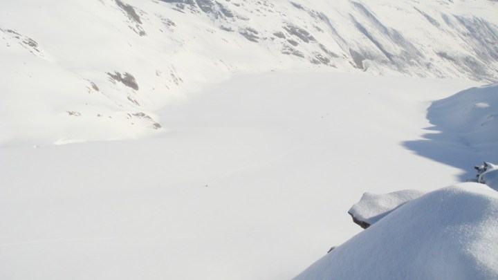 Weisskugel + Langtaufererspitze
