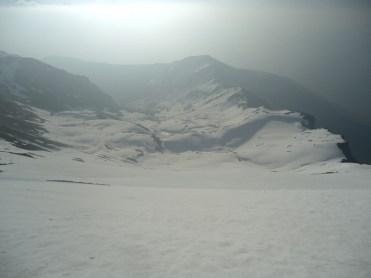 Firn vom Gipfel bis Valming