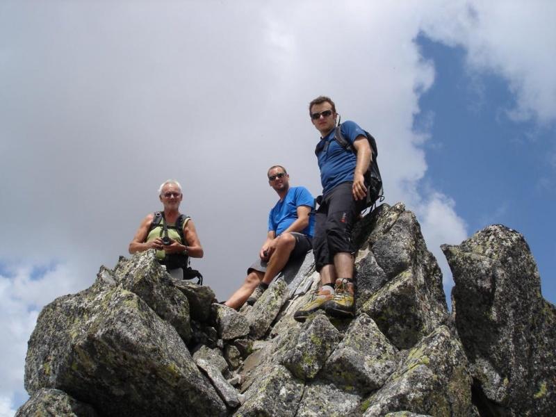 Westlicher Zwillingskopf (2837m) nördlichster Gipfel Südtirols
