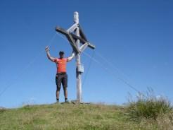 Gipfelkreuz Hohe Ferse 2669 m
