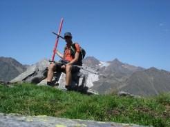 Gipfelkreuz Gleckspitze 2583 m