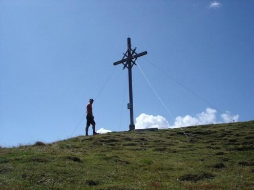 Gipfelkreuz R. Weissen 2822 m