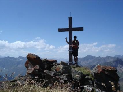 Gipfelkreuz Zirmaidspitze 2798 m